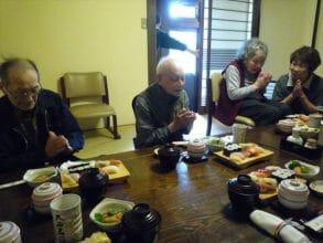 好楽庵 秋の食事会