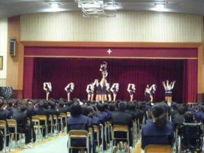 好楽庵 南部中学校 文化祭
